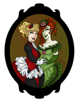 Neo Victorian Harley and Ivy by msciuto