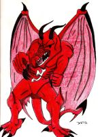 The New Jersey Devil by DwDrawings