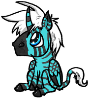 baby zebrsusicorn -sold by Killveous