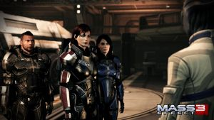 Ashley and Female Shepard by Revan654
