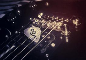 Guitar Pick by MewMewItems