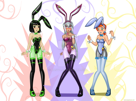 Ben 10 bunnies by Rosvo