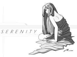 serenity no.1 - grayscale by teamMINORITY
