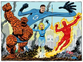 Fantastic Four by statman71