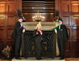 Super Mafia Bros by BaconFlavoredCosplay