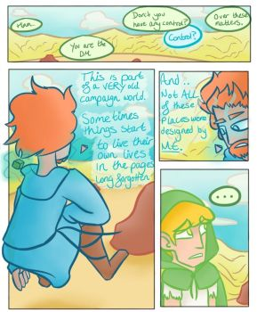 Knights of Pen and Paper 2 comic - Plains of NULL by Darkwizardsethlet