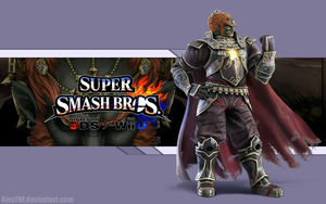 Ganondorf Wallpaper - Super Smash Bros. Wii U/3DS by AlexTHF