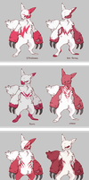 Zangoose Variations by CoryKatze