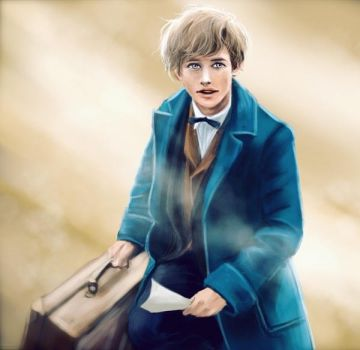 Newt Scamander by ying-art