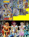 saint seiya Omega Cloth - god Cloth stone by Naruttebayo67