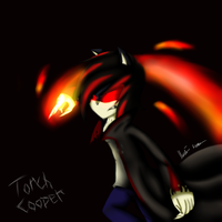 Torch Cooper Flaming Claw  by Mariatiger