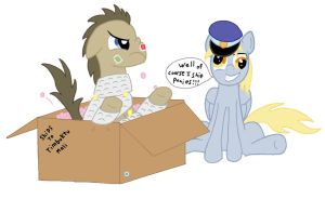 Derpy, the expert shipper by TomradeM