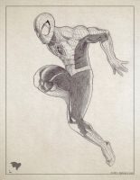 Spiderman sketch by ogi-g