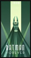 BATMAN FOREVER art deco by rodolforever