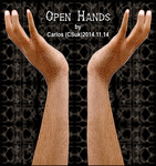 Resource Stock CLIPART: OPEN HANDS by CSuk-1T