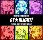 Thank you from ST*RLIGHT! by Chancake