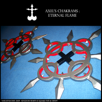 KH Props - Axel's Chakrams by NailoSyanodel