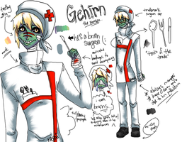 Gehirn the Zombie by Nepai
