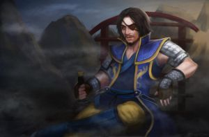 Xiahou Dun by serpentdoness