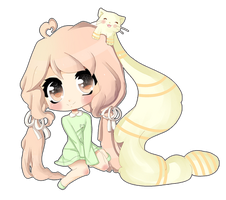 Kitty Pigtails by YukiBean