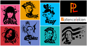 Hip Hop T-Shirt Designs 01 by PayLe