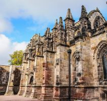 This is Rosslyn Chapel 3 Scotland. by jennystokes