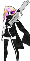 SS: Black Rock Shooter by accarini