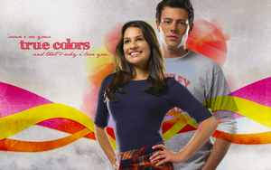 Glee - True Colors Wallpaper by emreunayli