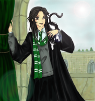 Slytherin Mew - Request ID by LoveMacabre