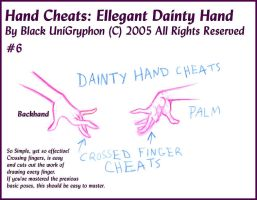 Hand Cheats 06 Ellegant Dainty by BlackUniGryphon