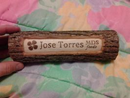 log name plate by doggie-dew