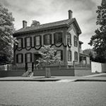 Abraham Lincoln's Home in Springfield Illinois by rdungan1918
