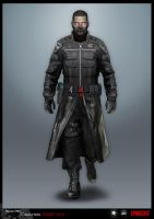 SYNDICATE concept - character Agent by torvenius