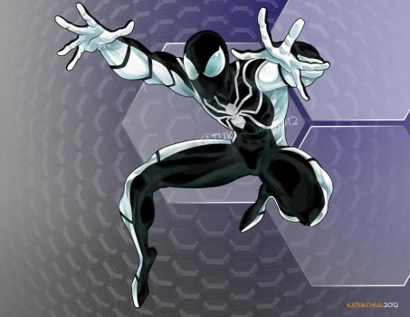 Spider-Man: Future Foundation Black by katukomal