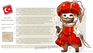 .:: Hetalia Profile ::. Ottoman Empire by TurkeyDELIGHT
