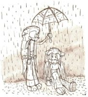 .:In The Rain:. by nikkihog