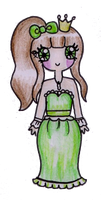 Pear Princess by Maddie-Pie