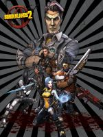 Borderlands 2 Poster by TraciBrooks