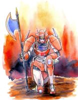 Watercolor sketch: Elita-1 by lucycat410