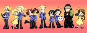 APH - Hetalia Host Club by Daciah