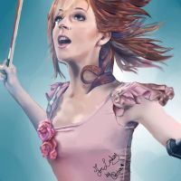 Lindsey Stirling by GrellSutcliffArt
