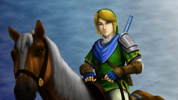 The Warrior of Hyrule by RealTRgamer