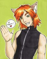 Cat Boy - for Meg by dj-neko