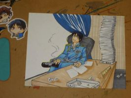Roy Mustang Commission by MistressMustang