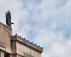 Eagle on the Federal Building by Moon-WillowStock