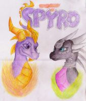 Spyro and Cynder by Rebecca1208