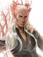 Thranduil by Athena-chan