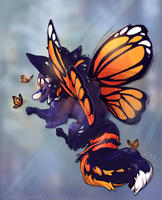 Butterflies- Sketchcom by colonel-strawberry