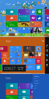 Windows 8 RTM Startscreen SDK by PeterRollar