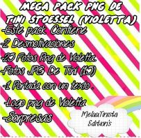 Mega Pack Violetta (Martina Stoessel) by MeluuTinistaEditions